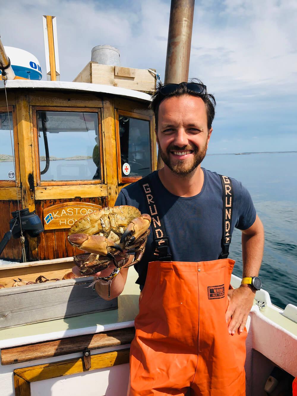 Stora krabbor blir bra på bild