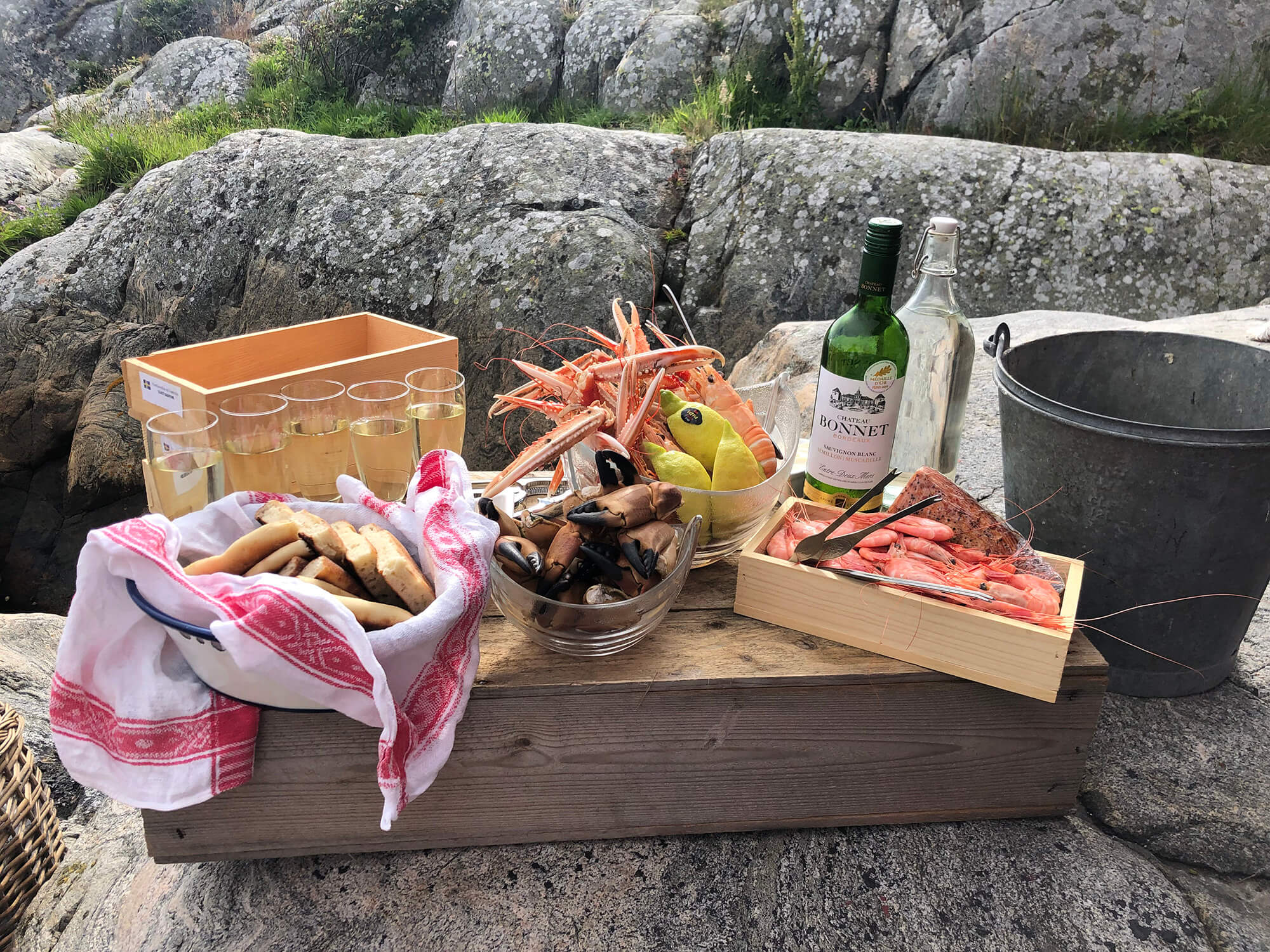 Seafood On the Rocks Sweden